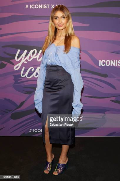 Wana Limar attends the Young ICONs Award in cooperation with HM and Tiffany's Co at BRLO Brwhouse on February 14 2017 in Berlin Germany