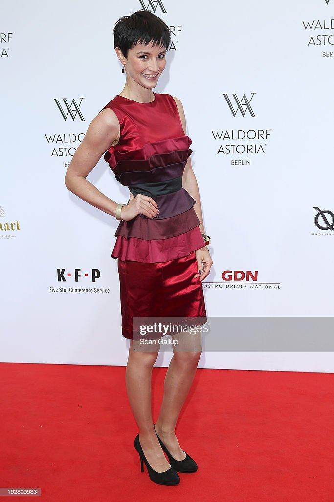 Wanda Badwal attends 'Waldorf Astoria Berlin Grand Opening' at Waldorf Astoria Berlin on February 27, 2013 in Berlin, Germany.