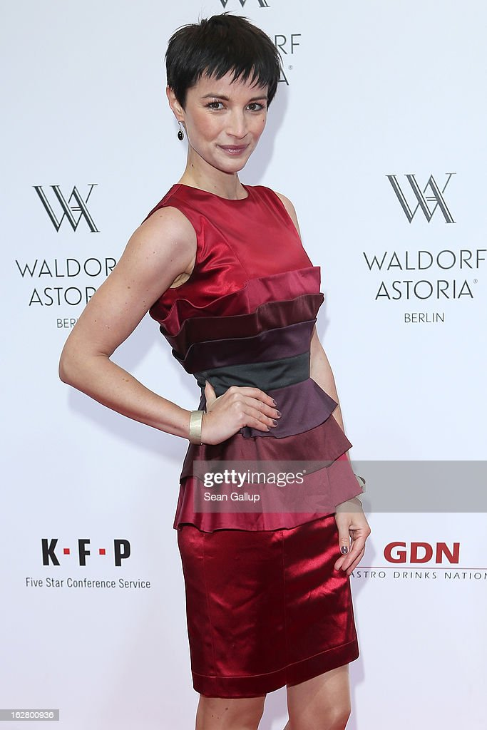 Wanda Badwal attends 'Waldorf Astoria Berlin Grand Opening' at Waldorf Astoria Berlin on February 27, 2013 in Berlin, Germany.
