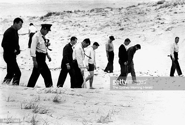 Wanda Beach Murders Police and citizens comb the sands of Wanda Beach after two 15yearold girls Christine Sharrock and Marianne Schmidt were murdered...