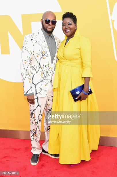 Wanda Durant attend the 2017 NBA Awards live on TNT on June 26 2017 in New York New York 27111_003