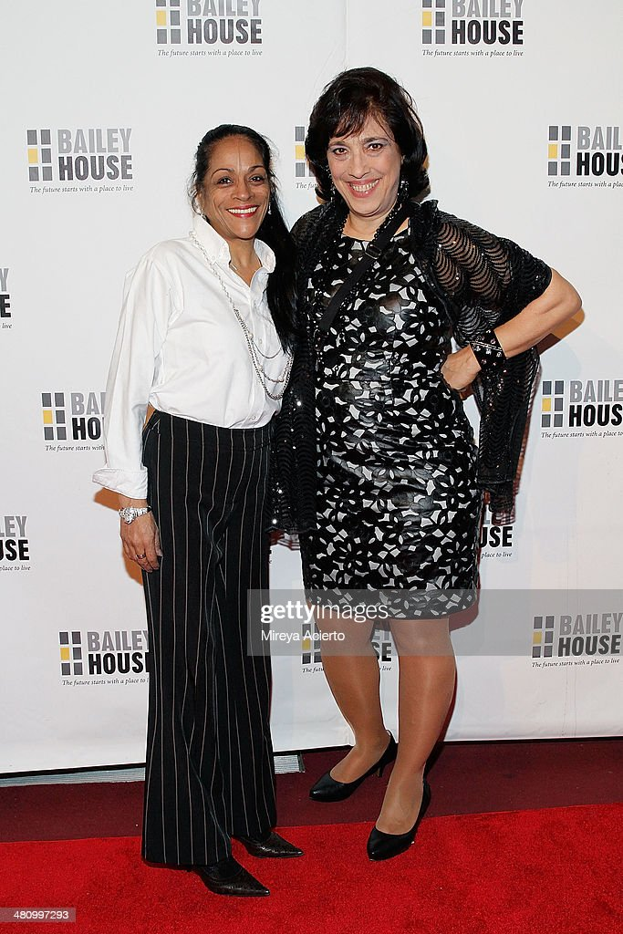 Wanda Hernandez and Gina Quattrochi attend Bailey House's 2014 Gala & Auction at Pier 60 on March 27, 2014 in New York City.