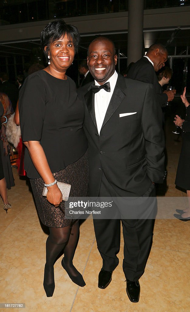 Wanda Hill and Lenny Singletary attend 2013 Multicultural Gala: An Evening Of Many Cultures at Metropolitan Museum of Art on September 23, 2013 in New York City.