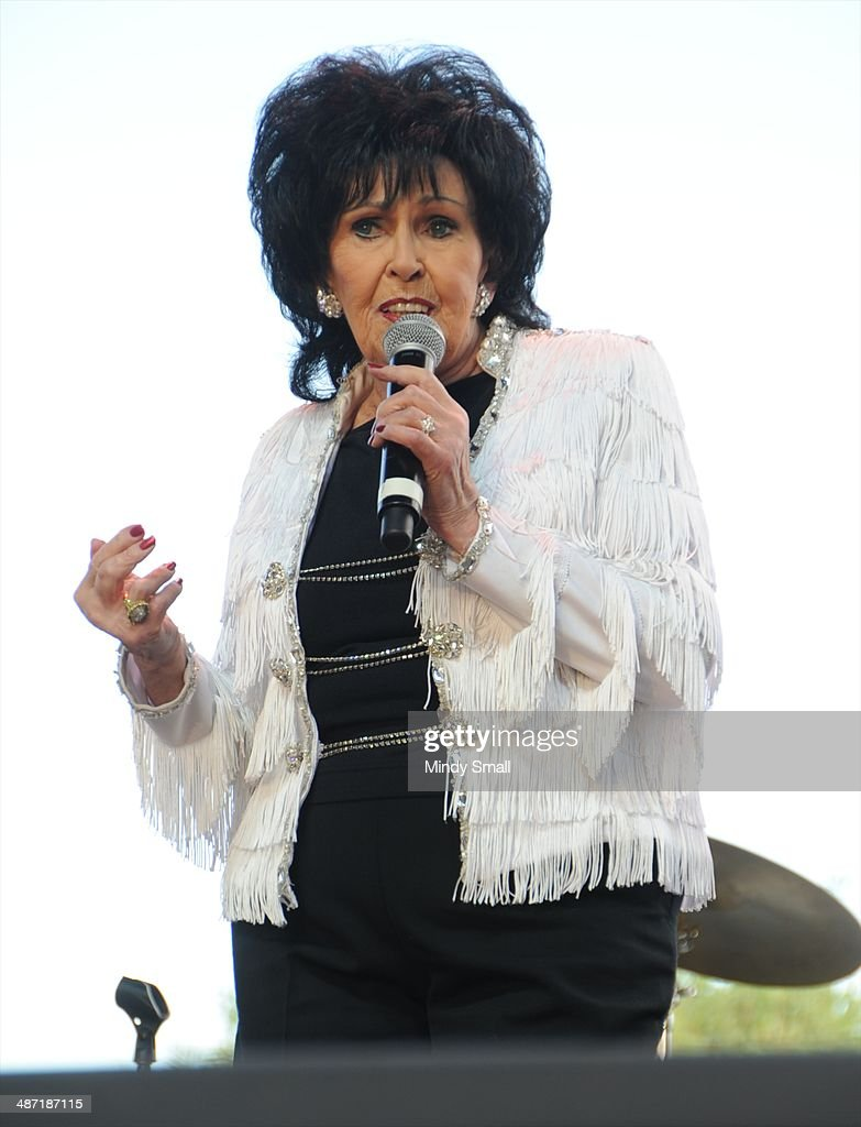 <a gi-track='captionPersonalityLinkClicked' href=/galleries/search?phrase=Wanda+Jackson&family=editorial&specificpeople=765253 ng-click='$event.stopPropagation()'>Wanda Jackson</a> performs at the 2014 Stagecoach California's Country Music Festival at The Empire Polo Club on April 27, 2014 in Indio, California.