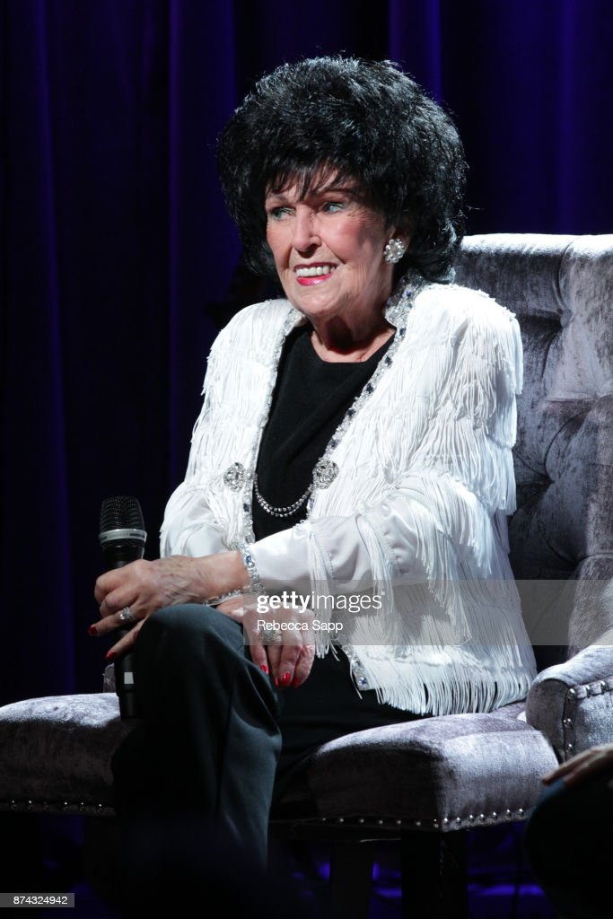 Wanda Jackson speaks onstage at An Evening With Wanda Jackson on November 14, 2017 at the GRAMMY Museum in Los Angeles, California.