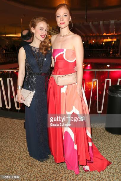 Wanda Perdeltiz and Marleen Lohse during the Lola German Film Award 2017 after party at Palais am Funkturm on April 28 2017 in Berlin Germany