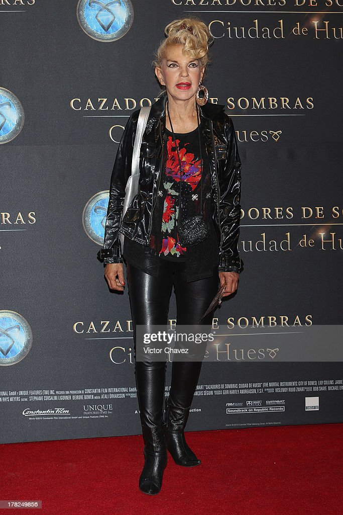 Wanda Seux attends The Mortal Instruments: City of Bones' Mexico City screening at Auditorio Nacional on August 27, 2013 in Mexico City, Mexico.