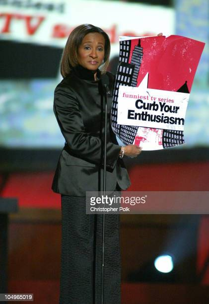 Wanda Sykes announces Curb Your Enthusiasm as the winner for Funniest TV Series of the Year