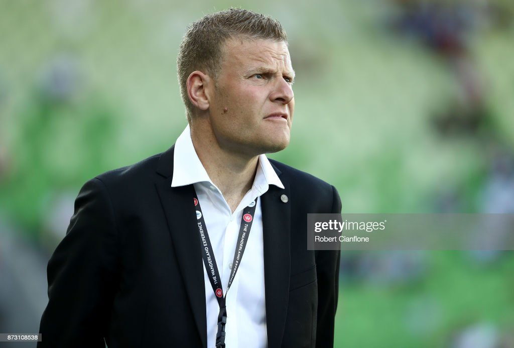 Wanderers coach Josep Gombau looks on prior to the round six A-League match between Melbourne City and the Western Sydney Wanderers at AAMI Park on November 12, 2017 in Melbourne, Australia.