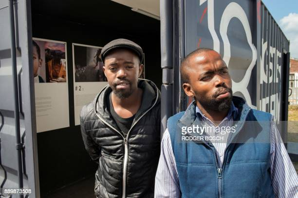 Wandisile Nqeketho and Siyabulela Daweti founders of the 18 Gangster Museum in Khayelitsha a large sprawling settlement about 35km from the city...
