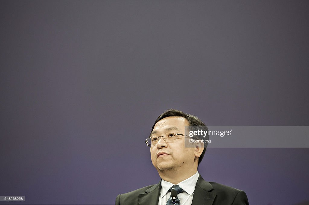 Wang Chuanfu, chairman of BYD Co., speaks during a session at the World Economic Forum (WEF) Annual Meeting of the New Champions in Tianjin, China, on Monday, June 27, 2016. The meeting runs through June 28. Photographer: Qilai Shen/Bloomberg via Getty Images