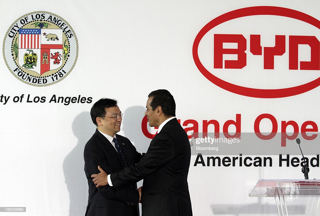 Chinese-based Renewable Energy Company BYD Opens North American HQ