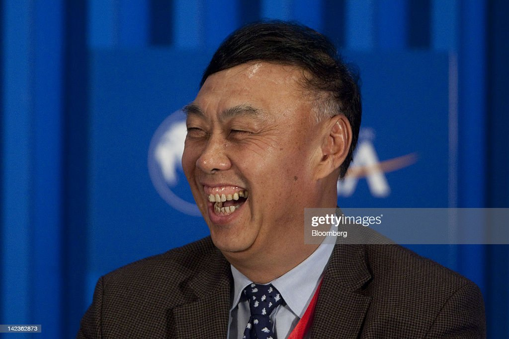 Wang Dongming, chairman of Citic Securities Co. Ltd., reacts during a session at the Boao Forum for Asia in Boao, Hainan Province, China, on Tuesday, April 3, 2012. The Boao Forum ends today. Photographer: Nelson Ching/Bloomberg via Getty Images