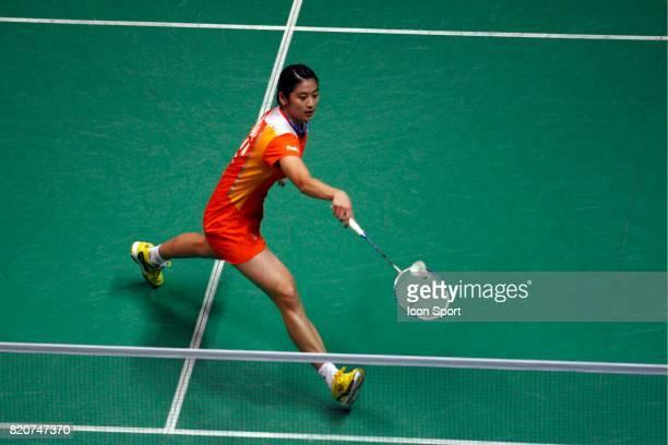 Wang LIN Simple Femme Finales des Championnats du Monde de Badminton 2010 Stade Pierre de Coubertin Paris