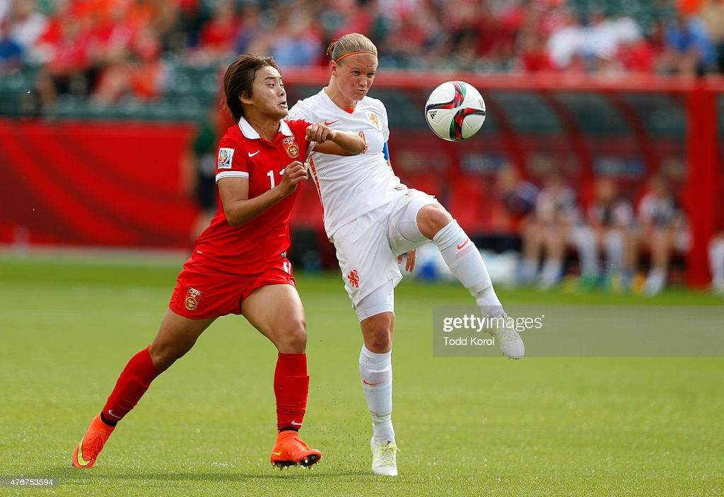 China PR v Netherlands: Group A - FIFA Women's World Cup 2015