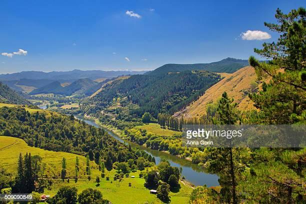 Wanganui River scenic overlook