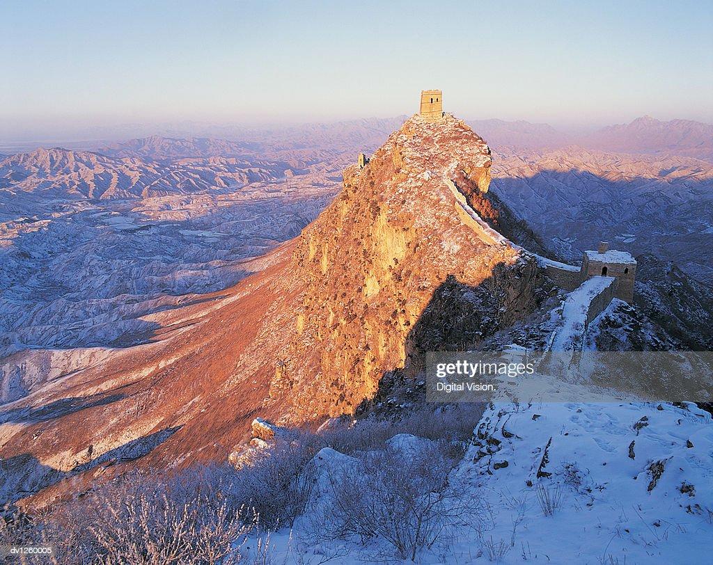 Wangjinglou tower, Simitai, Great Wall of China, China
