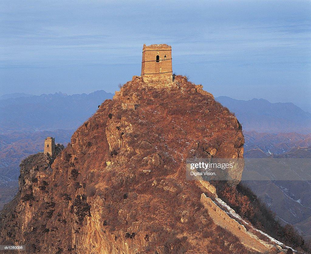 Wangjinglou Watchtower, Simatai, Great Wall of China, China
