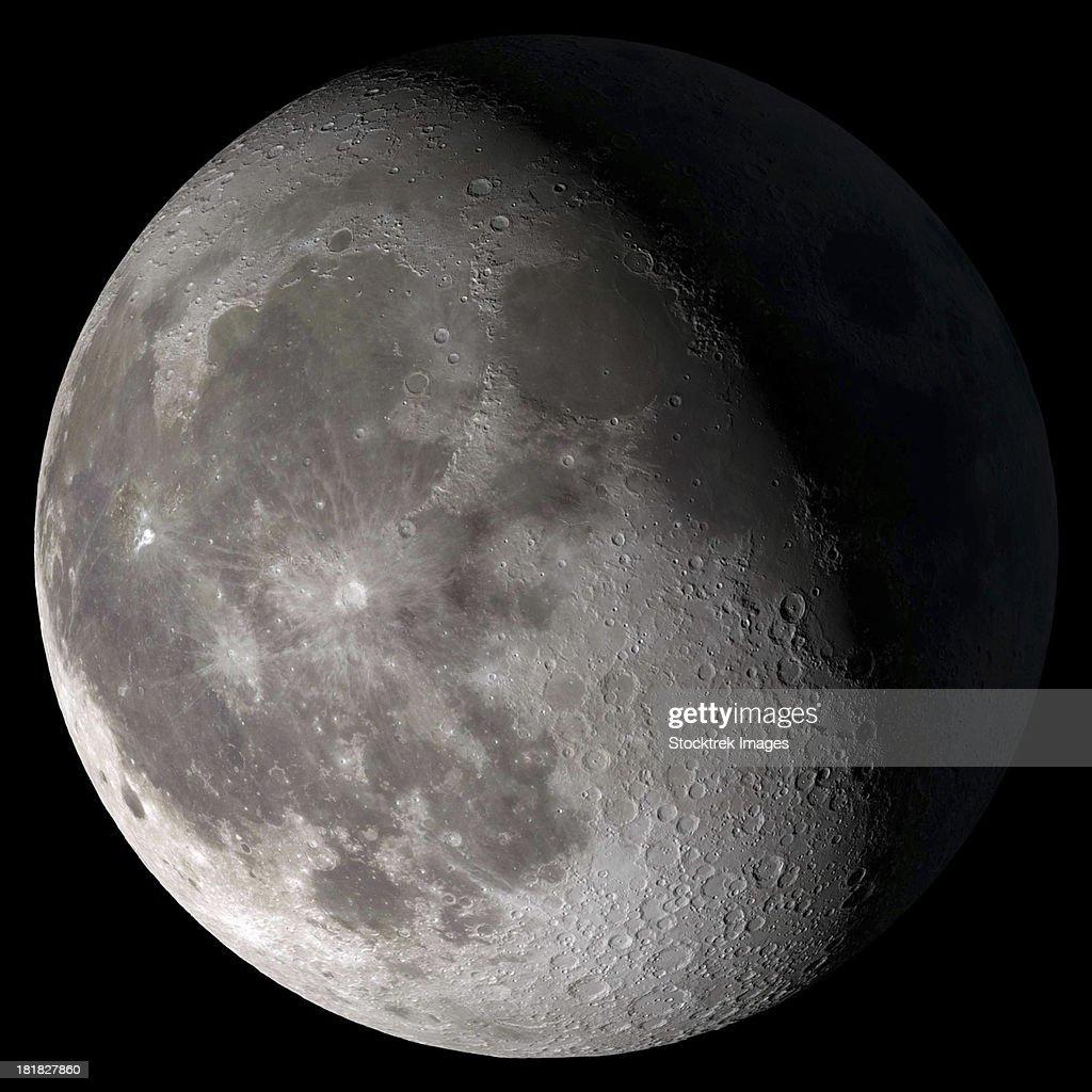 Waning gibbous moon.