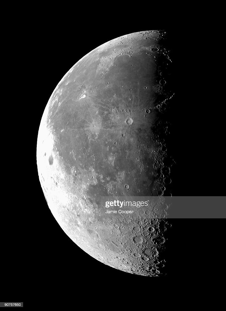 Waning Moon in its last quarter Photograph by Jamie Cooper