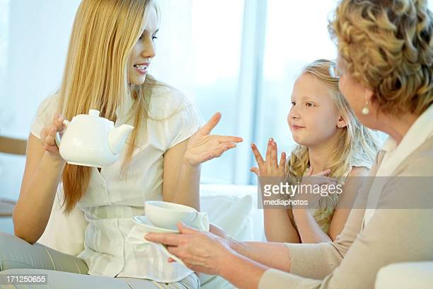 Vous avez envie d'un peu de thé ?