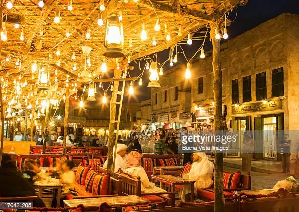 Waqif Souk in Doha, Qatar.