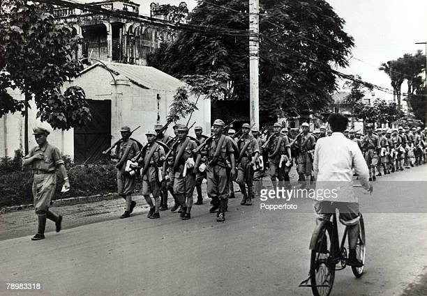 War and Conflict Chinese Civil War pic October 1949 The Shantung battalion of the Nationist Army withdrawing into Canton The conflict between...