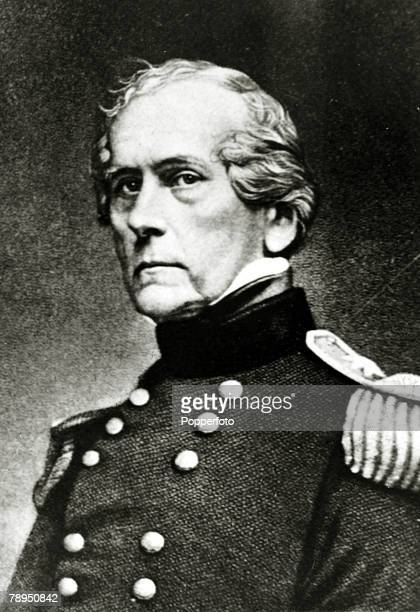 War and Conflict IllustrationThe American Civi War pic circa 1861 General Wool who commanded all the Federal armiies in and around the Monroe...