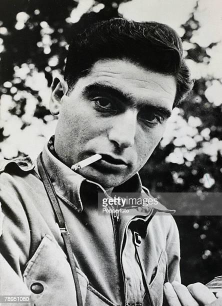 War and Conflict Photography Personalities pic circa 1950 Famous war photographer Robert Capa whose exploits as a war photographer made him a legend...