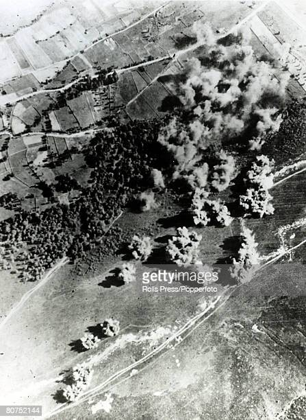 War and Conflict Spanish Civil War Italian air legionaries bomb enemy trenches in Spain Italy helped support General Franco on the fascist side in...