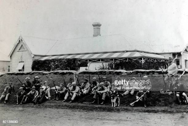War and Conflict The Boer War 18991902 Part of a small British force at Mussons Corner Mafeking that resisted a large Boer force until relieved on...