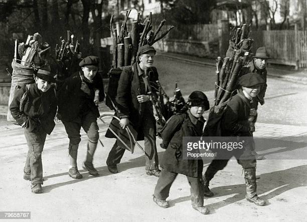 War and Conflict World War I Armistice pic circa 1920 A picture from famine stricken Austria during the depression that followed the Great War...