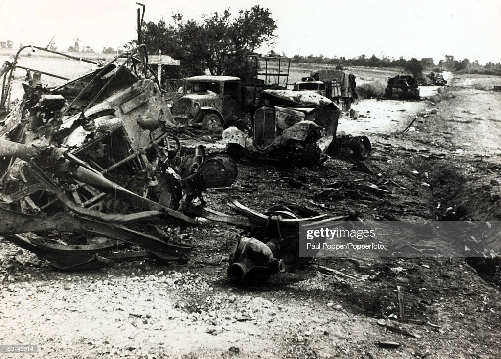 Tanks And Military Vehicles Destroyed During 199091 Gulf War In ...