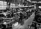 War and ConflictPre World War II Industry pic 5th November 1938 Naval guns being produced in a munitions factory in England