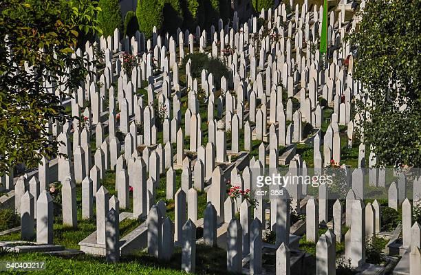 War cemetery in Sarajevo