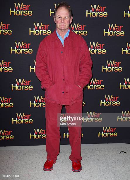 War Horse author Michael Morpurgo attends 'War Horse' at the Lyric Theatre on March 21 2013 in Sydney Australia