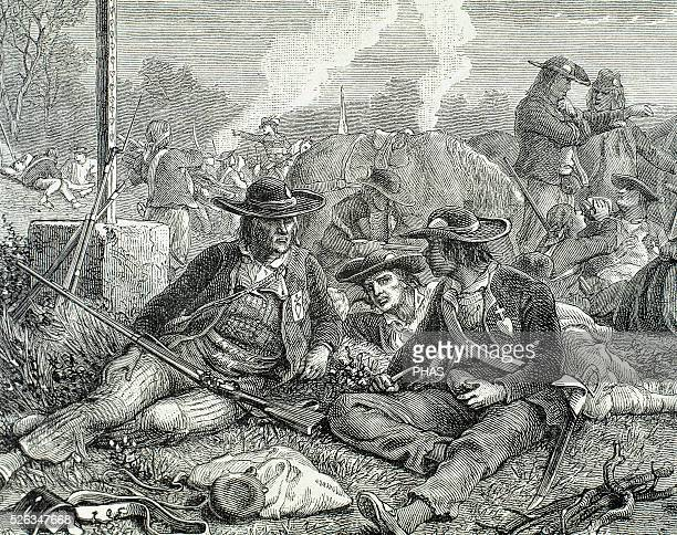 War in the Vendee 17931796 Uprising in the Vendee region of France during the French Revolution Engraving Insurgent peasants