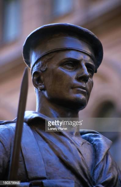 War memorial statue, Martin Place.