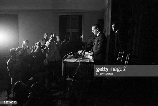 Evian Conference March 1962 Evian mars 1962 Négociations entre les représentants du gouvernement français et du FLN algérien qui aboutissent le 18...