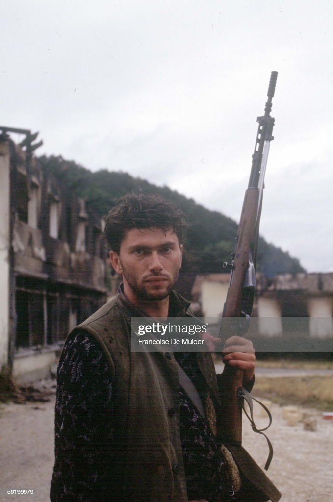 War of BosniaHerzegovina Bosnian partisan Dobosnica September 1992