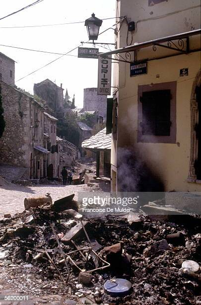 War of BosniaHerzegovina Mostar September 1992