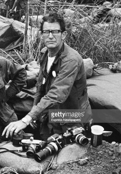 War photographer Larry Burrows from Life Magazine right on Hill Timothy Vietnam 11th May 1968
