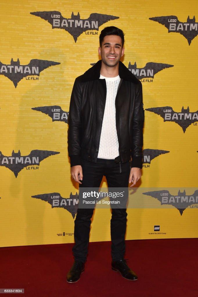 War Tek attends 'Lego Batman' Premiere at Le Grand Rex on February 1, 2017 in Paris, France.