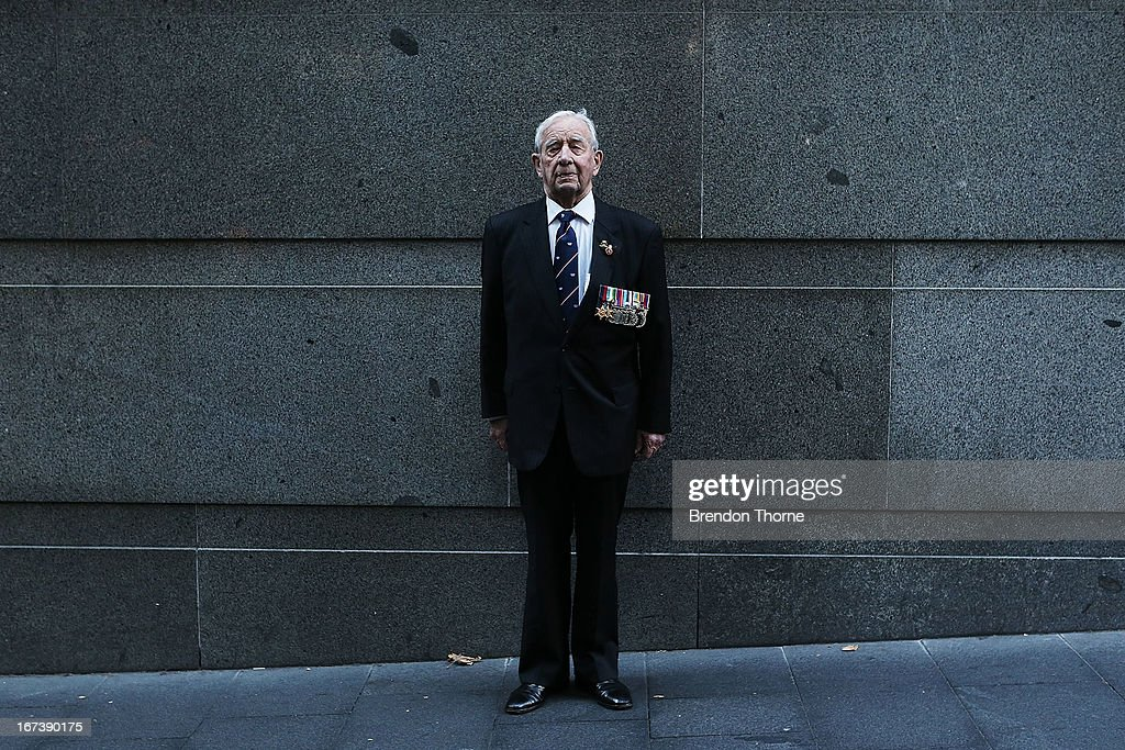 A war veteran poses prior to the ANZAC Day parade on April 25, 2013 in Sydney, Australia. Veterans, dignitaries and members of the public today marked the 98th anniversary of ANZAC (Australia New Zealand Army Corps) Day, April 25, 1915 when allied First World War forces landed on the Gallipoli Peninsula. A public holiday in both Australia and New Zealand, commemoration events are held across both countries in remembrance of those who fought and died in all wars.