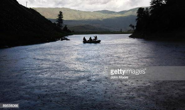 S war wounded float down the Colorado River with a fishing guide on July 30 2009 near McCoy Colorado They were part of a group of a dozen war wounded...