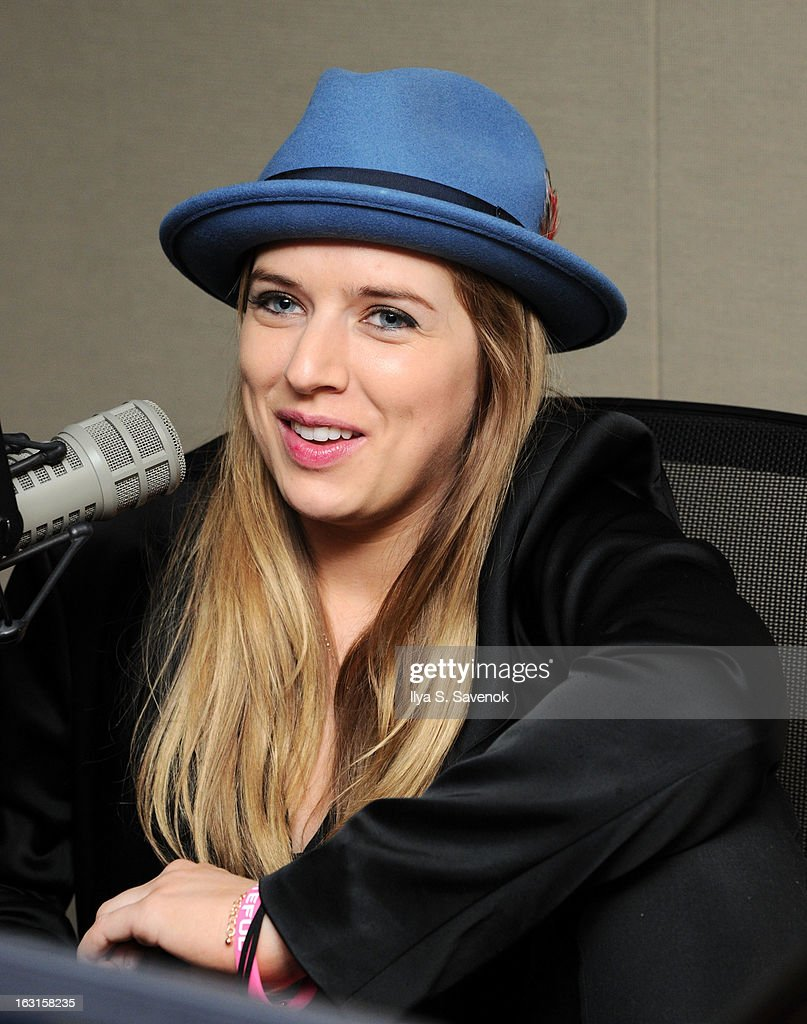 ZZ Ward guest DJs on The Spectrum in the SiriusXM Studios on March 5, 2013 in New York City.