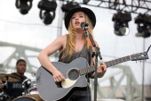 Ward performs live onstage during the 2014 Bunbury Music Festival on July 13 2014 in Cincinnati Ohio