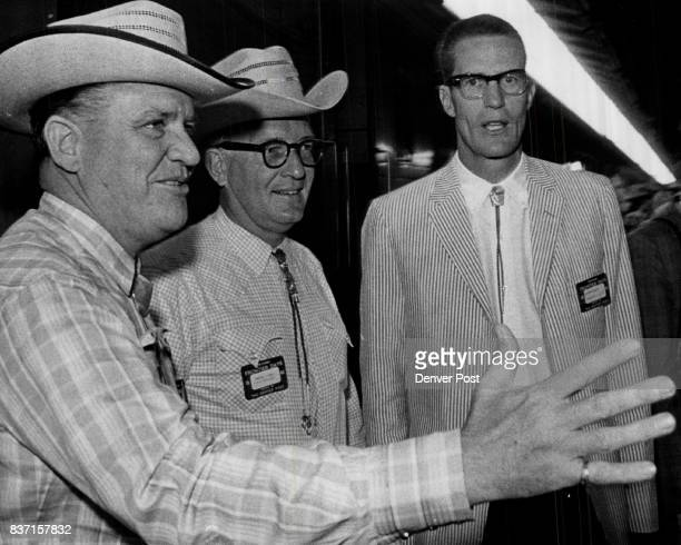 Warden Wayne Patterson State Penitentiary Revill J Fox Denver Advertising Executive Joe Coors of Adolph Coors Co Golden Credit Denver Post
