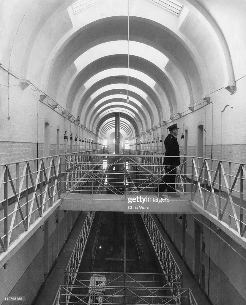 A warder at Wakefield Prison in Wakefield West Yorkshire 16th April 1962