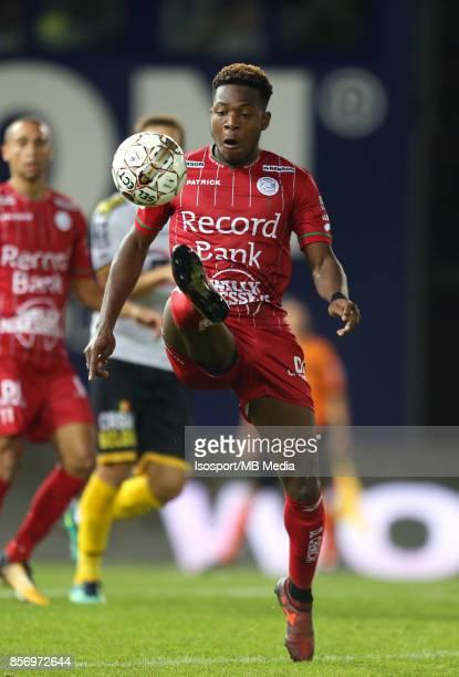 20171001 Waregem Belgium / Zulte Waregem v Sporting Lokeren / 'nAaron LEYA ISEKA'nFootball Jupiler Pro League 2017 2018 Matchday 9 / 'nPicture by...